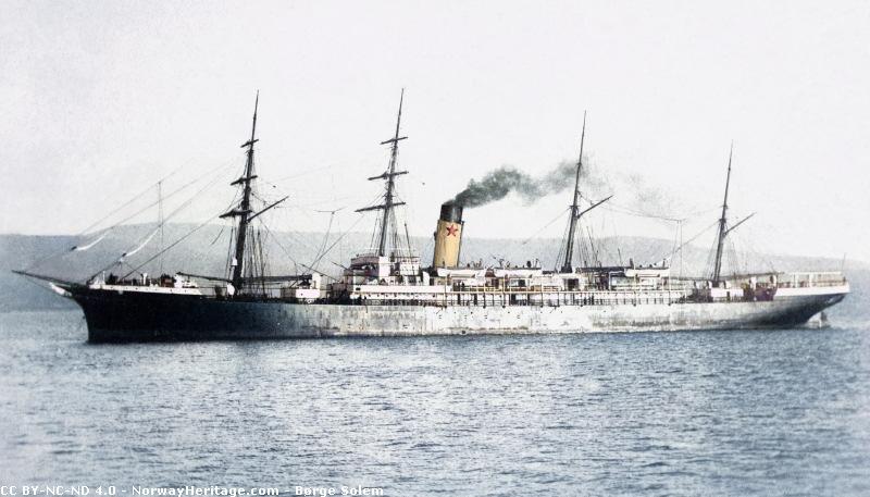 ss FRIESLAND  Red Star Line Friesl10