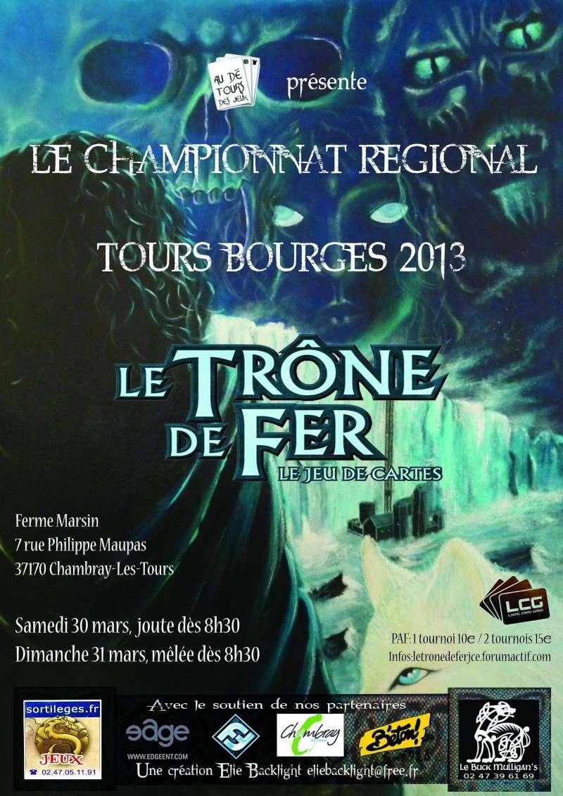[CR TOURS-BOURGES 2013 à TOURS] informations générales & inscriptions Affich10