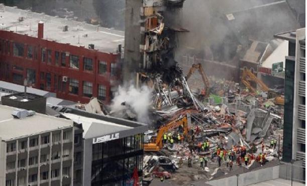 Al menos 65 fallecidos deja terremoto de 6,3 grados Richter en Nueva Zelandia Cuatro11