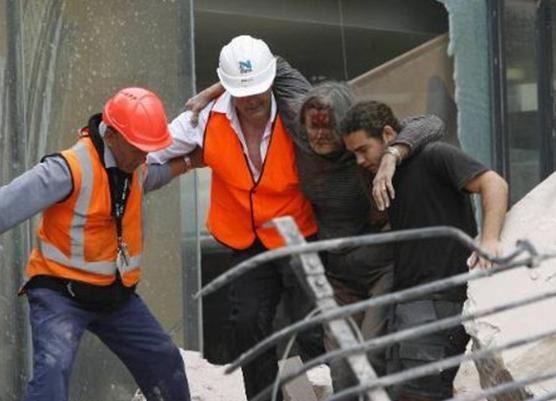 Al menos 65 fallecidos deja terremoto de 6,3 grados Richter en Nueva Zelandia Once10