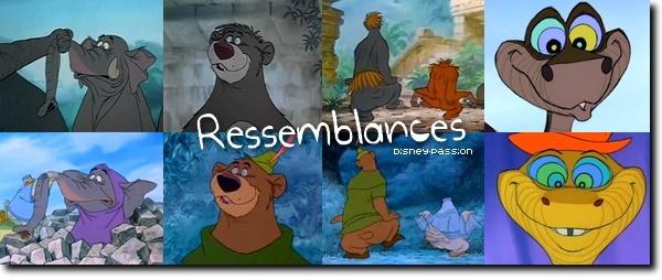 Ressemblances Films Disney 20811010