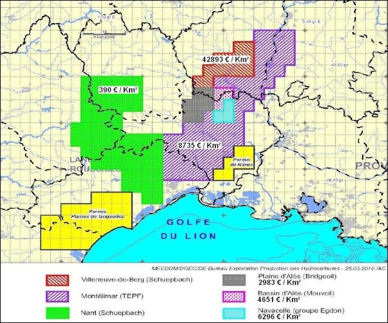 Les promesses d'investissements ramenés au km² Cartes10