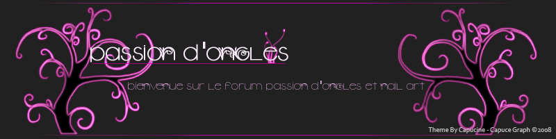 passion d'ongles