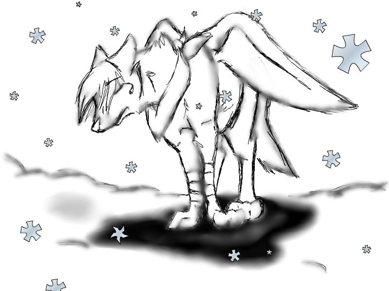 Dessin de Snow' Louve_11