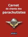 Carnet de chants des parachutistes Couvca10