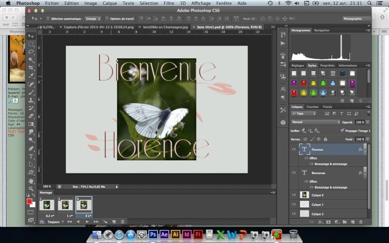 Tuto animation créer une bannière pub avec photoshop fichier gif - Page 2 Captur16