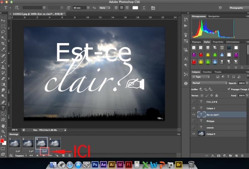 Tuto animation créer une bannière pub avec photoshop fichier gif - Page 2 Captur17