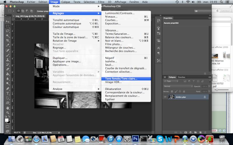 Comment faire un noir et blanc intense avec photoshop Captur19