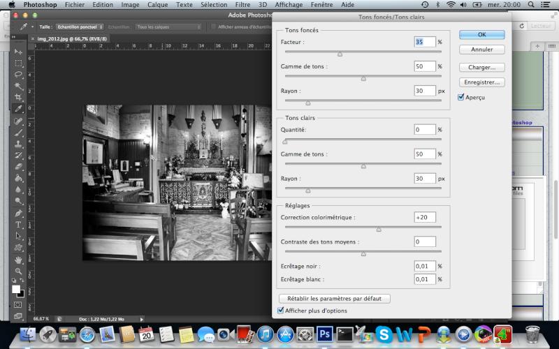Comment faire un noir et blanc intense avec photoshop Captur20