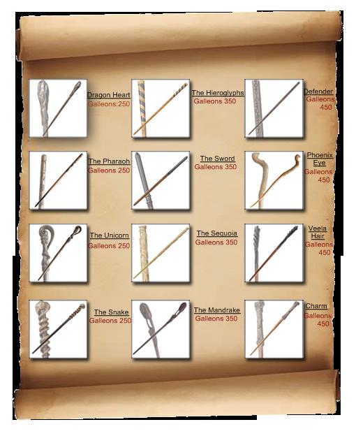 Wands List Test_311