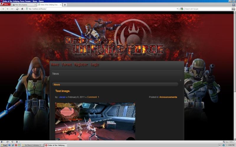 New site progress. Untitl11