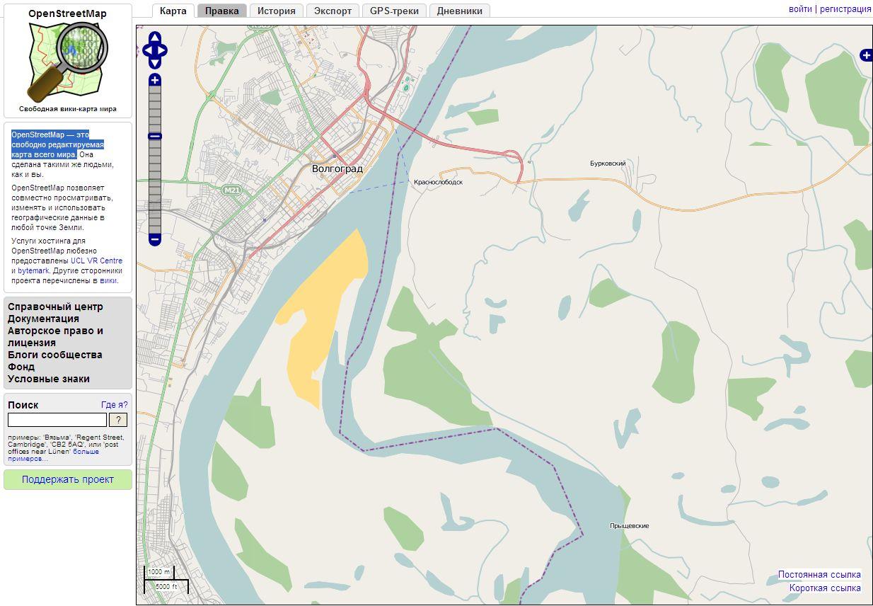 OpenStreetMap — свободно редактируемая карта Dnndun21