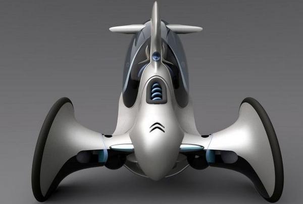 Ещё один перспективный вид городского транспорта E-3pod10