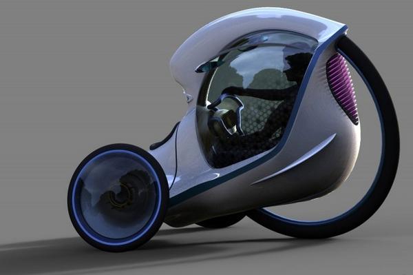 Ещё один перспективный вид городского транспорта E3pode11