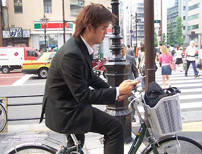Молчаливые японские велосипедисты Japan-10