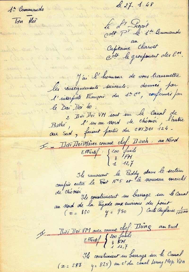 qui se souvient des 4 cdos Hoa Hao du Capitaine Charvet 1947/1948 ? 27-01-10