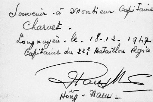 qui se souvient des 4 cdos Hoa Hao du Capitaine Charvet 1947/1948 ? 58-sou10