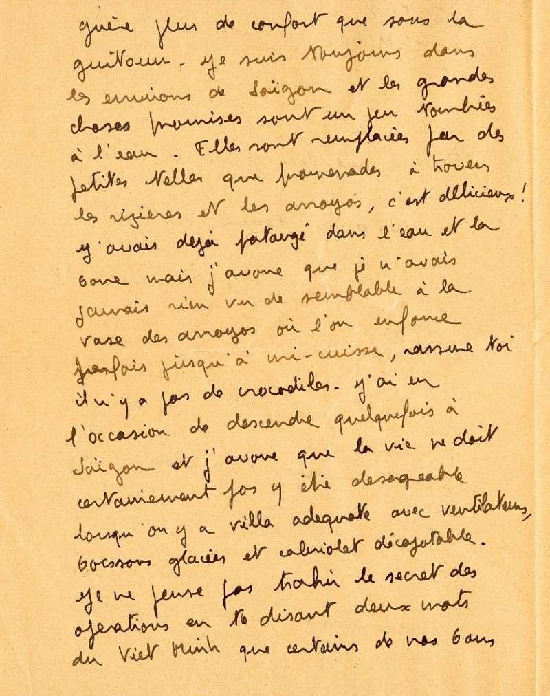 qui se souvient des 4 cdos Hoa Hao du Capitaine Charvet 1947/1948 ? Lettre11