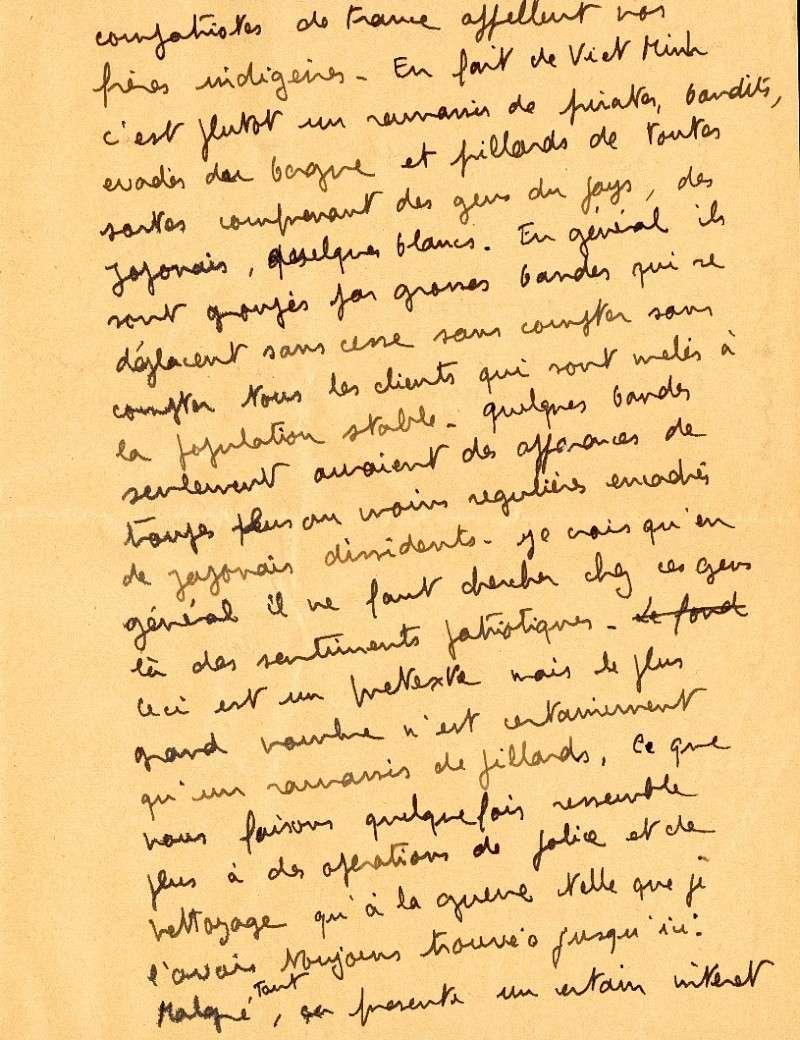 qui se souvient des 4 cdos Hoa Hao du Capitaine Charvet 1947/1948 ? Lettre13