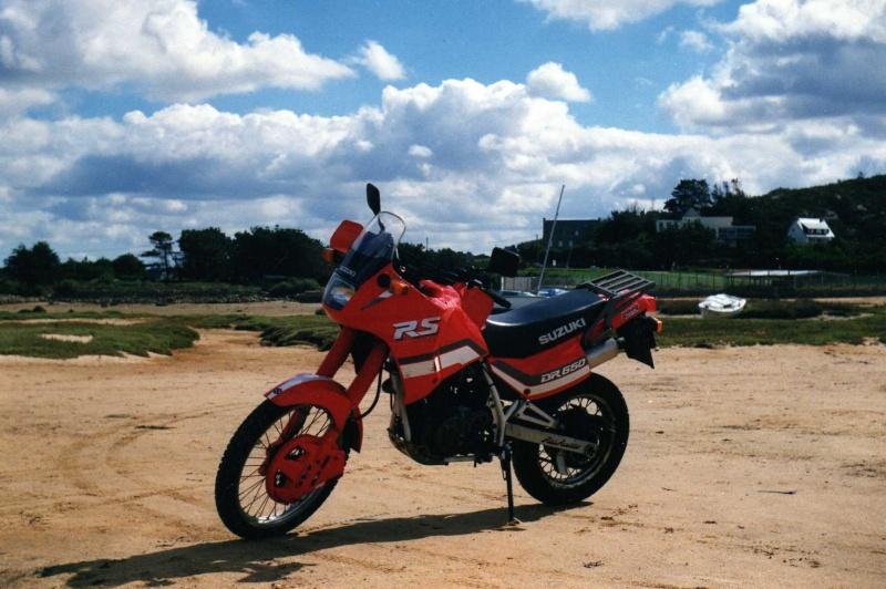 mes diverses motos 650dr10