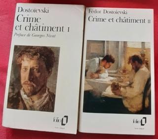 Crime et chatiment de Dostoïevski, annonce de la lecture commune 20210611