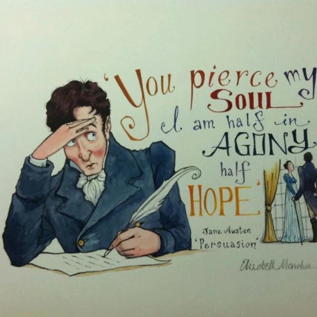 Les moments romantiques dans la littérature Austen10
