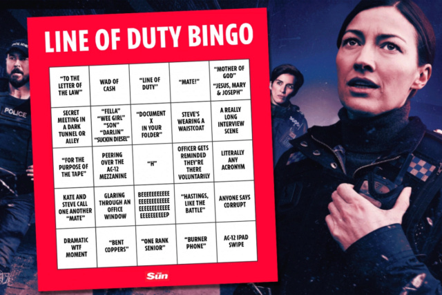 Line of duty Bingo_10