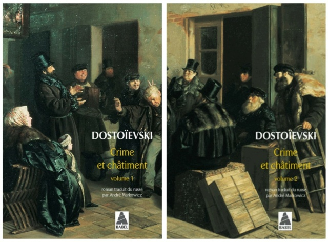 Crime et chatiment de Dostoïevski, annonce de la lecture commune Crime11