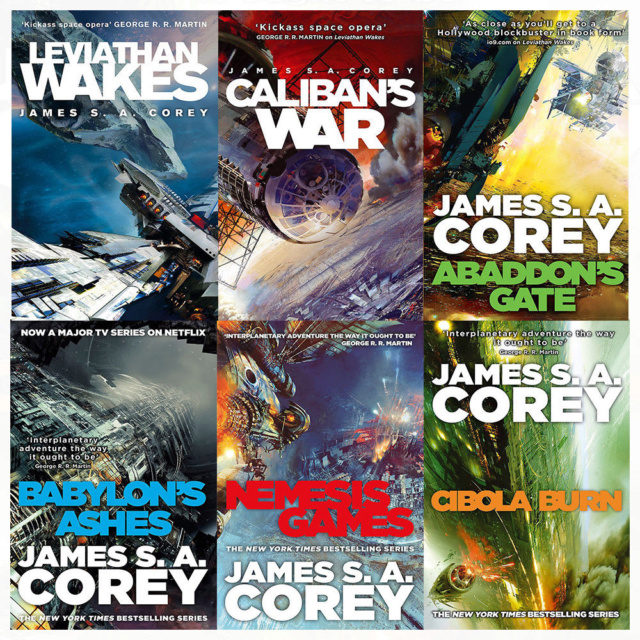 The expanse de James S.A Corey Expans11