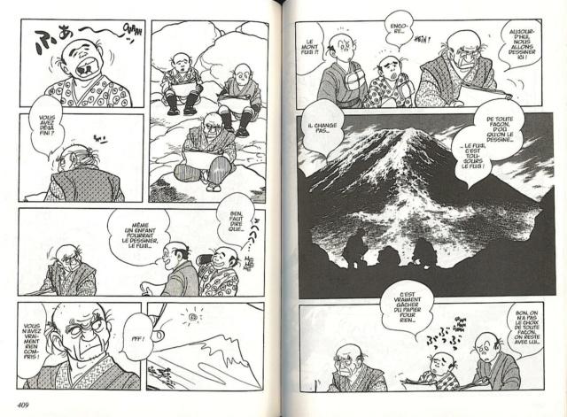 Hokusai de Shôtaro Ishinomori Fuki10