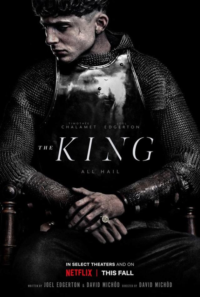The King, avec Timothée Chalamet Tim110
