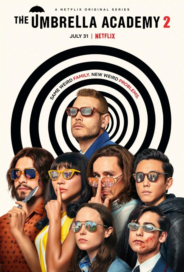 The Umbrella academy (Netflix) Umbrel16
