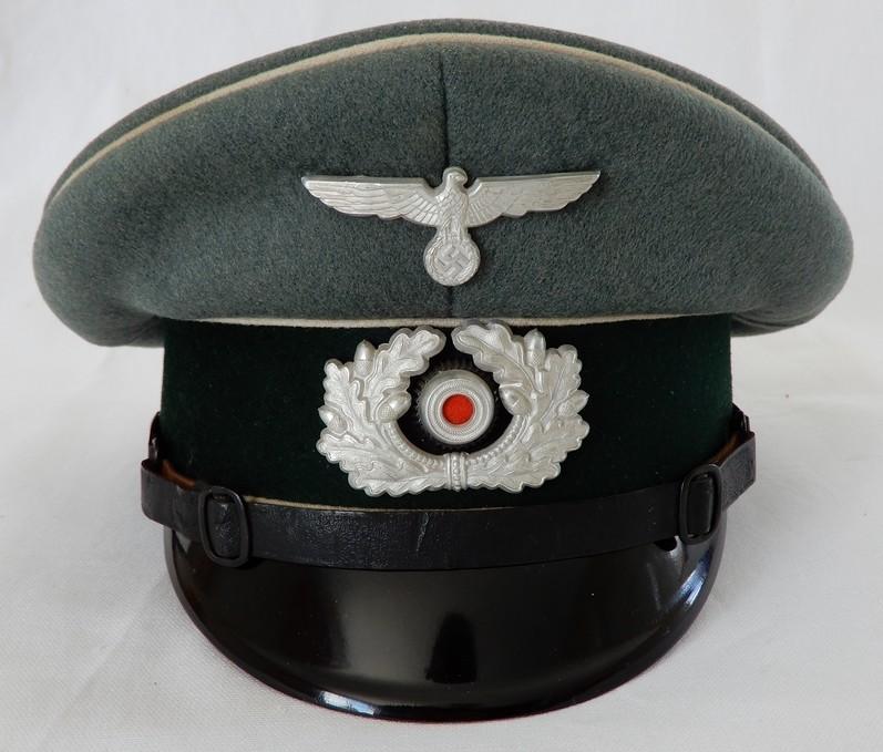 Passion Schirmmütze WW2 (casquettes sous Off / Off)  Dscn0310