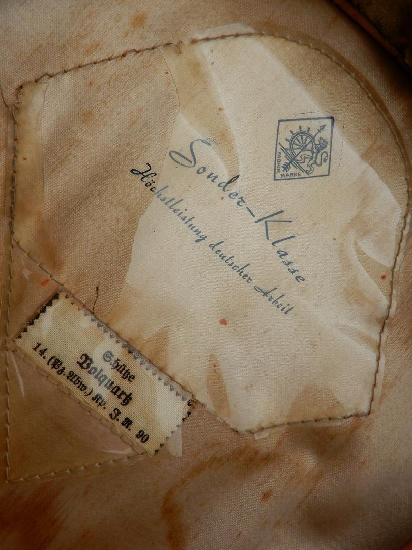 Passion Schirmmütze WW2 (casquettes sous Off / Off)  Dscn0312