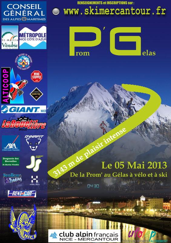 Prom' Gélas 2013 Poster11