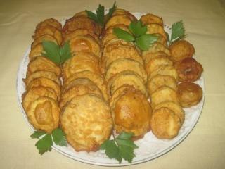 beignets à l'aubergine et courgette.photos. Beigne25