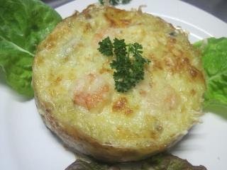 Clafoutis aux fruits mer et Mozzarella. photos. Clafou38