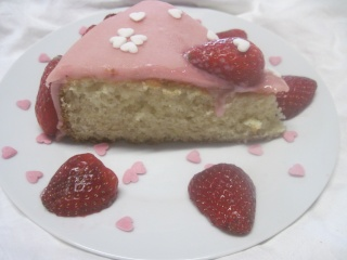 gâteau coeur st Valentin.photos. Gateau14