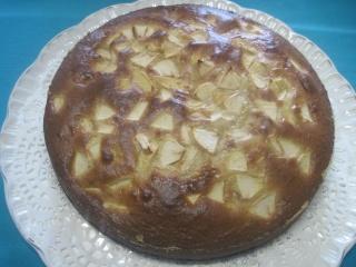 gâteau au concentré sucré  aux  pommes.photos. Gateau44