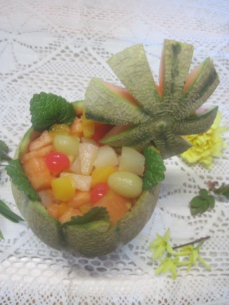 Melon fraicheur garnis.photos. Melon_10