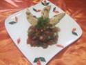 Aiguillettes de poulet aux dés de légumes Provençale.photos. Aiguil37