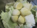 chou blanc aux lardons fumés.photos. Chou_a15