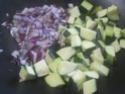 Darne de saumon rose aux légumes.photos. Darme_16