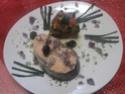 Darne de saumon rose aux légumes.photos. Darme_21