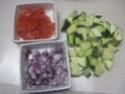 Darne de saumon rose aux légumes.photos. Darme_23