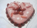 gâteau coeur st Valentin.photos. Gateau38