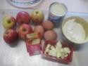 gâteau au concentré sucré  aux  pommes.photos. Gateau45