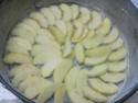 gâteau au concentré sucré  aux  pommes.photos. Gateau55