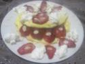 omelette sucrée aux fraises.photos. Omelet10