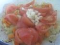 pâtes petits paniers et champignons,épices Massalé.photos. Pate_a19